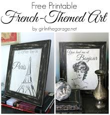 free printable art home decor french themed printable art printable art free printable and