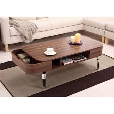 Overstock Round Coffee Table - furniture of america berkley modern coffee tables and end tables