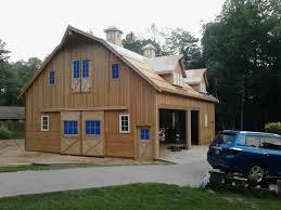 loft barn plans dig pole barn kit with loft