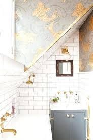 bathroom with wallpaper ideas bathroom wallpaper ideas blue redlibre co