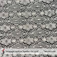 china cheap cotton lace fabric by the yard m3150 china