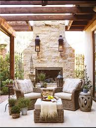 Best  Outdoor Fireplaces Ideas On Pinterest Outdoor Patios - Outdoor living room design
