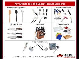 names of kitchen knives us kitchen tool gadget market snapshot 2013