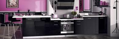 cuisine noir et cuisine noir socooc sogia cuisines verriere cuisine
