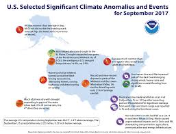Fl East Coast Map National Climate Report September 2017 State Of The Climate
