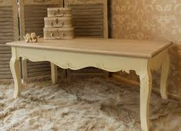 French Country Coffee Tables - coffee table distressed cream coffee table french country coffee