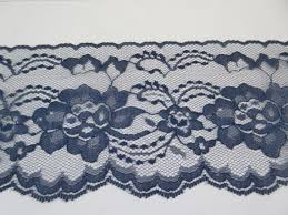 navy blue lace ribbon navy lace trim ribbon 4 inch wide blue floral lace