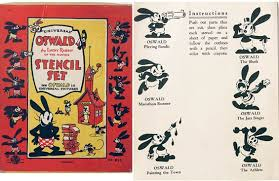rabbit merchandise mouseplanet the history of oswald the lucky rabbit part two by