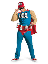 John Cena Halloween Costume Duffman Muscle Costume Mens Simpsons Halloween Costumes