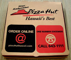 pizza hut s big eat pizza deal tasty island