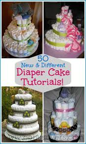 Diaper Cake Decorations For Baby Shower How To Make A Diaper Cake 50 Diy Diaper Cake Tutorials Diaper