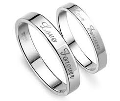 matching wedding rings for him and forever matching wedding bands set for him and in 925