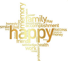 clipart happy family word cluster remix