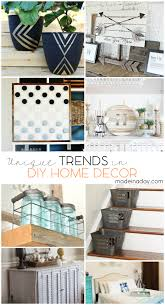home decor diy trends unique trends in diy home decor painted planters wood arrow art