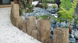 Patio Edging Options by Garden Border Edging Ideas To Enhance Your Garden Latest Home
