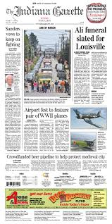 the indiana gazette feb 28 2016 by indiana printing