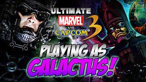 ultimate marvel ultimate marvel vs capcom 3 as galactus ps4