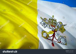 State Flags For Sale Vatican City State Flag Papal Flags Stock Illustration 749432380