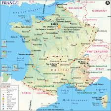 Cannes Map by Europe 164805 Map Of France Wall Map 36 X 36 Laminated U003e Buy