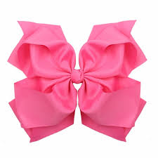 big ribbon 10 inches big bow clip boutique hair bows for