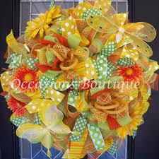best summer mesh wreaths for front door products on wanelo