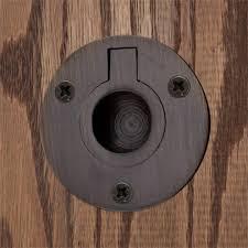 Recessed Closet Door Pulls Recessed Ring Pull Hardware