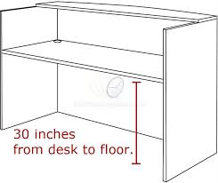 Office Counter Desk Get Valencia Series Reception Desk With Transaction Counter And
