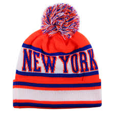 New York Giants Flag Design Knit Cityhunter Cap Usa