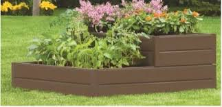 Raised Garden Beds Kits Tiered Resin Raised Garden Bed Kit And Square Foot Gardening Book