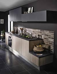 cuisine ardoise et bois cuisine blanche et ardoise amazing dcoration cuisine bois clair
