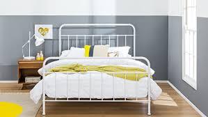 sunday bed frame blanc white domayne