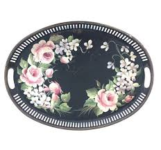 painted serving platters 274 best metal serving trays images on trays serving