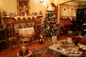 Victorian Living Room by Decorations Classic Victorian Living Room Christmas Decor Come