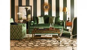 Green Sofa Living Room Decorating With Green Sofa