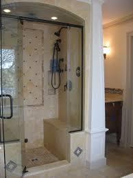 No Shower Door Shower Small Walk In Tile Shower With No Doorssmall Bathroom