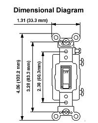 leviton 1222 plr 20 amp 120 volt toggle pilot light