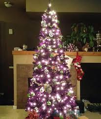 purple artificial tree treetopia