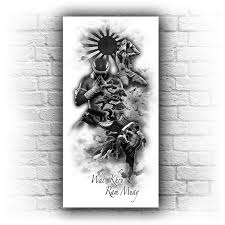 wall template11 jpg 709 709 รอยส ก pinterest custom tattoo