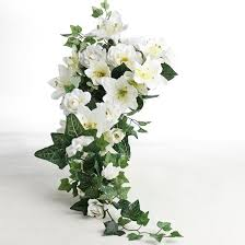 gardenia bouquet artificial and gardenia cascading bouquet bushes and