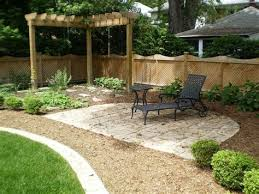small backyard landscaping ideas without grass easy landscape