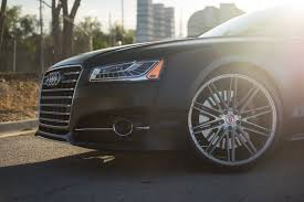 audi s8 matte black 2016 audi s8 black matte wrap 22 vossen forged wheels