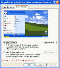 windows 8 bureau classique personnaliser le bureau la barre des tâches et le menu démarrer