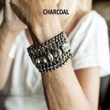 leather bracelet with swarovski crystal images Ori bracelets ori jewels jpg