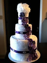 towel wedding cake cake ideas