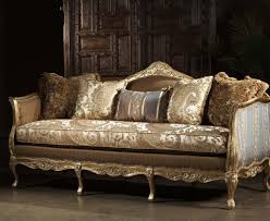 Victorian Style Living Room Sofas Center Luxury French Rococo Wood Carved Hand Painted