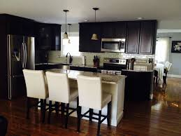 kitchen backsplash ideas with dark wood cabinets u2014 smith design