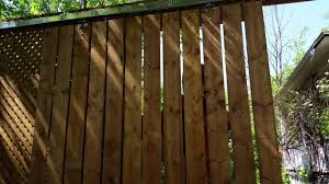 new fence with sliding barn door youtube