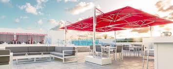 Cantilever Umbrella Toronto by Single Cantilever Ocean Master Max Umbrellas U0026 Parasols Tuuci