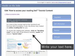 online tutorial library rebus tutorial creating online tutorials for your own resources