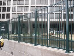richmond commercial ornamental aluminum fence hercules fence